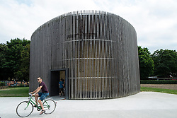 Chapel of Reconciliation  in former death strip of Berlin Wall on Bernauer Strasse in Berlin Germany