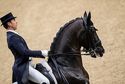 Werndl Benjamin, GER, Daily Mirror 9<br /> Göteborg - Gothenburg Horse Show 2019 <br /> FEI Dressage World Cup™ Final II<br /> Grand Prix Freestyle/Kür<br /> Longines FEI Jumping World Cup™ Final and FEI Dressage World Cup™ Final<br /> 06. April 2019<br /> © www.sportfotos-lafrentz.de/Stefan Lafrentz