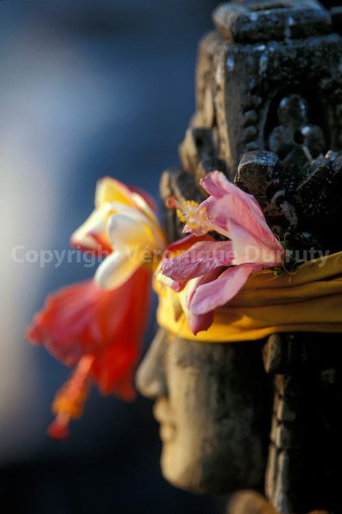 Dans un temple hindouiste...Dans un temple hindouiste.