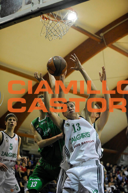 DESCRIZIONE : Roma Junior Tournament Eurolega 2009-10 Finale Final Zalgiris Kaunas Benetton Treviso<br /> GIOCATORE : Edgaras Ulanovas<br /> SQUADRA : Zalgiris Kaunas<br /> EVENTO : Eurolega 2009-2010 Junior Tournament<br /> GARA : Zalgiris Kaunas Benetton Treviso<br /> DATA : 29/12/2009<br /> CATEGORIA :<br /> SPORT : Pallacanestro<br /> AUTORE : Agenzia Ciamillo-Castoria/M.Rosi<br /> Galleria : Eurolega 2009-2010<br /> Fotonotizia : Roma Junior Toutnament Eurolega 2009-10 Fianle Final Zalgiris Kaunas Benetton Treviso<br /> Predefinita :