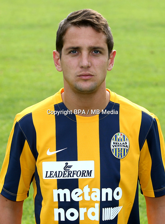 Italian League Serie A -2015-2016 / <br /> ( Hellas Verona FC ) - <br /> Juan Ignacio Gomez Taleb &quot; Juanito Gomez &quot;