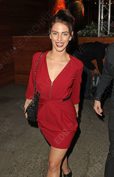 20.APRIL.2013. LONDON<br /> <br /> JESSICA LOWNDES ATTENDS THE 'LIMBO' PRESS NIGHT AT THE SOUTHBANK CENTRE IN LONDON.<br /> <br /> BYLINE: EDBIMAGEARCHIVE.CO.UK<br /> <br /> *THIS IMAGE IS STRICTLY FOR UK NEWSPAPERS AND MAGAZINES ONLY*<br /> *FOR WORLD WIDE SALES AND WEB USE PLEASE CONTACT EDBIMAGEARCHIVE - 0208 954 5968*