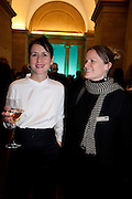 CURATOR; LIZZIE CAREY-THOMAS; ANNIE BICKNELL, Migrations private view, Tate Britain. London. 30 January 2012.