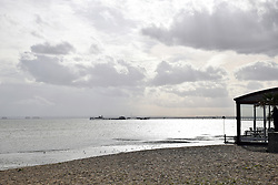 Southend-on-Sea with pier in the background, Essex UK