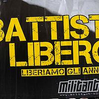 Manifesti per la liberazione di Cesare Battisti