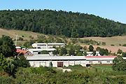 Landwirtschaftliche Gebäude Tiefengruben, Thüringen, Deutschland   farm buildings Tiefengruben, Thuringia, Germany