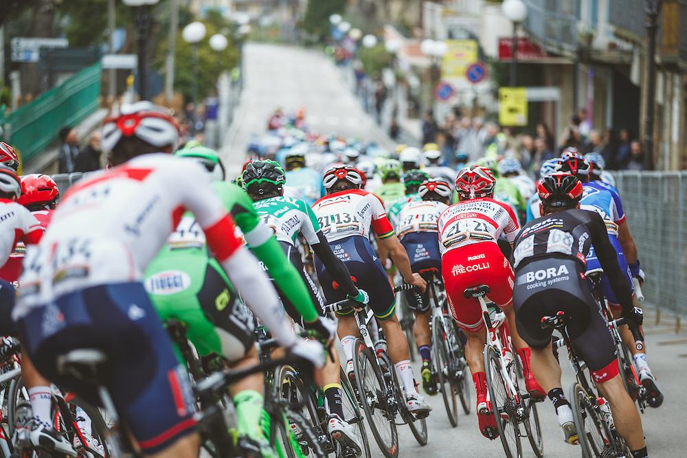 2016 Tirreno-Adriatico Stage 6: Castelraimondo - Cepagetti 210 km  Photo: Jim Fryer / BrakeThrough Media