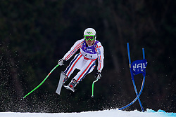 12.02.2011, Kandahar, Garmisch Partenkirchen, GER, FIS Alpin Ski WM 2011, GAP, Herren Abfahrt, im Bild Johan Clarey (FRA) takes to the air competing in the men's downhill race on the Kandahar race piste at the 2011 Alpine skiing World Championships, EXPA Pictures © 2010, PhotoCredit: EXPA/ M. Gunn