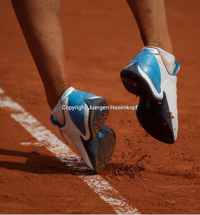 French Open 2009, Roland Garros, Paris, Frankreich,Sport, Tennis, ITF Grand Slam Tournament,  ..Maria Sharapova (RUS)..Foto: Juergen Hasenkopf..