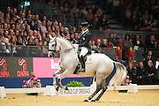 Miguel Ralao Duarte - Xenofobie d' Atela<br /> Olympia Horse Show 2016<br /> © DigiShots