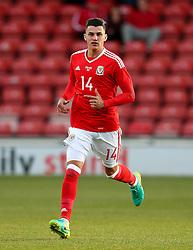 Reegan Poole of Wales U21  - Mandatory by-line: Matt McNulty/JMP - 02/09/2016 - FOOTBALL - The Racecourse Ground - Wrexham, United Kingdom - Wales v Denmark - UEFA Euro 2017 U21 qualifying round