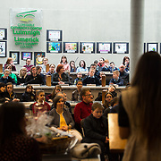05/03/2019<br /> Pictured is Sara Montoya, co-op member of Fairtrade Colombia.<br /> <br /> Fairtrade worker Sara Montoya, from a Fairtrade Coffee Co-op in Colombia was the special guest in Limerick City and County Council chamber today at an event to coincide with Fairtrade Fortnight.<br />  <br /> Sara joined Fairtrade supporters from across Limerick and Ireland for the annual initiative, which features a programme of talks and community events aimed at promoting awareness of Fairtrade and Fairtrade-certified products.<br />  <br /> Speaking at the event in Dooradoyle, Sara outlined the success and benefits of the Fairtrade movement in Colombia and how important it is for people in the developed world think of Fairtrade products when shopping.<br />  <br /> This year's campaign 'Create Fairtrade' invites us all to use our imagination and create fairtrade in our lives.<br />  <br /> Young people from across Limerick city and county were also a focus of the event as they displayed their posters, which they created to help change the way people think about trade and the products on our shelves.<br /> Photo by Diarmuid Greene