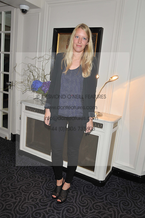 ALICE ROTHSCHILD at the Quintessentially Foundation poker evening at The Savoy Hotel, London on 30th October 2012.