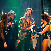 NLD/Amsterdam/20160321 - Edison Pop Awards 2016, My Baby wint de Award voor categorie ALTERNATIVE
