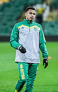 Josh Murphy of Norwich City U23 before the match against Dinamo Zagreb U23 in the Premier League International Cup Quarter-Final match at Carrow Road, Norwich<br /> Picture by Matthew Usher/Focus Images Ltd +44 7902 242054<br /> 27/02/2017