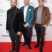 NLD/Amsterdam/20200206 - Ballet premiere Frida, Michael Mendoza en .........