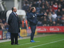 Newcastle United manager Rafa Benitez (L) and Preston North End manager Simon Grayson - Mandatory by-line: Jack Phillips/JMP - 29/10/2016 - FOOTBALL - Deepdale - Preston, England - Preston North End v Newcastle United - EFL Championship