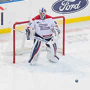 Doug Carr #31 of the UMass Lowell Riverhawks in action during the Frozen Fenway game between The Northeastern Huskies and The UMass Lowell Riverhawks at Fenway Park on January 11, 2014 in Boston, Massachusetts.