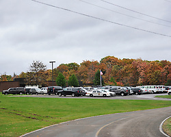 Police and federal agents continue to comb the Pocono Mountains in search of alleged cop killer Eric Matthew Frein Oct. 22, 2014, near Canadensis, Pa. (Chris Post | lehighvalleylive.com)