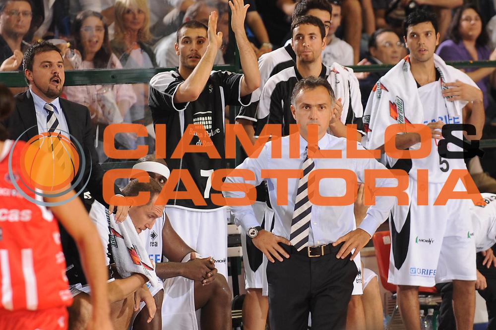 DESCRIZIONE : Ferrara Lega A 2009-10 Basket Carife Ferrara Bancatercas Teramo<br /> GIOCATORE : Giorgio Valli<br /> SQUADRA : Carife Ferrara<br /> EVENTO : Campionato Lega A 2009-2010 <br /> GARA : Carife Ferrara Bancatercas Teramo<br /> DATA : 11/10/2009<br /> CATEGORIA : <br /> SPORT : Pallacanestro <br /> AUTORE : Agenzia Ciamillo-Castoria/M.Marchi