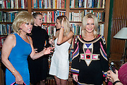 SALLY FARMILOE; CAPRICE; JADE FARMILOE; TRICIA WALSH-SMITH,  Launch of  KILIMANJARO APPEAL in aid of TODAY AND TOMORROW and HOPE HOUSE , THE WOMEN'S UNIVERSITY CLUB, S. Audley sq. London. 18 October 2010. <br />  -DO NOT ARCHIVE-© Copyright Photograph by Dafydd Jones. 248 Clapham Rd. London SW9 0PZ. Tel 0207 820 0771. www.dafjones.com.