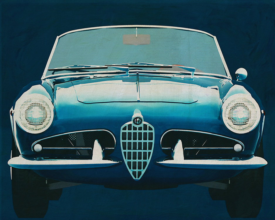 Alfa Romeo Giulietta 1300 Spyder 1955<br />