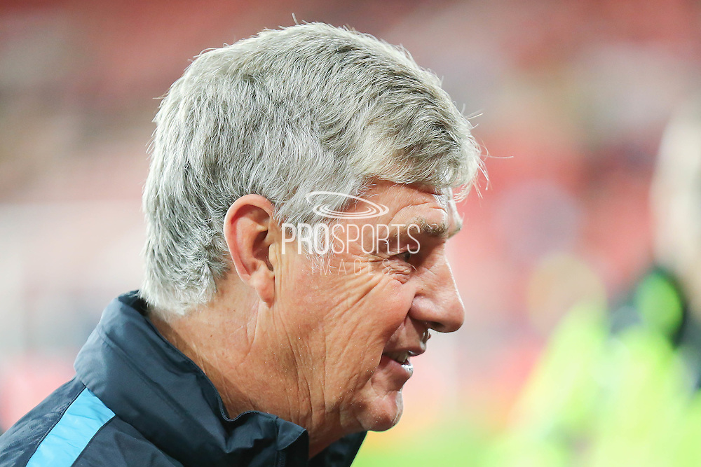 Manchester City Assistant Manager Brian Kidd during the Capital One Cup match between Sunderland and Manchester City at the Stadium Of Light, Sunderland, England on 22 September 2015. Photo by Simon Davies.