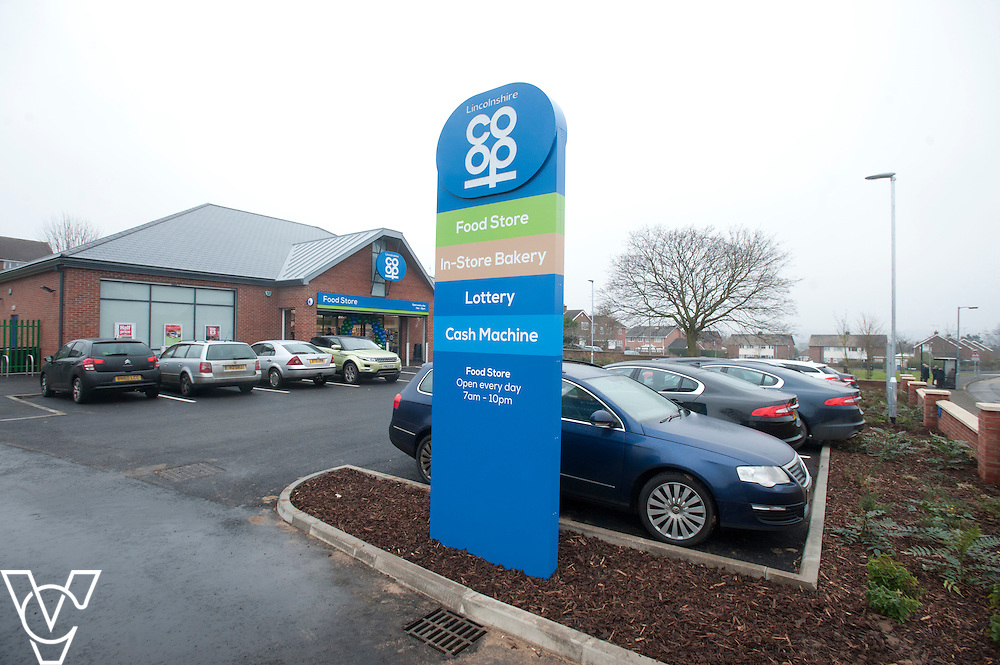 Lincolnshire Co-operative Kilton Food Store, Worksop.<br /> <br /> Date: February 13, 2015