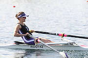 Eton, United Kingdom.  Charlotte BURGESS, competing in the Women's Lightweight Single Sculls  Sat. time trial.  2011 GBRowing Trials, Dorney Lake. Saturday  16/04/2011  [Mandatory Credit; Peter Spurrier/Intersport-images] Venue For 2012 Olympic Regatta and Flat Water Canoe events.