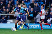 Nick Freeman of Wycombe Wanderers in action during the EFL Sky Bet League 1 match between Wycombe Wanderers and Sunderland at Adams Park, High Wycombe, England on 19 October 2019.
