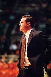 December 18, 2001:  University of Illinois basketball coach Bill Self...This image was scanned from a print.  Image quality may vary.  Dust and other unwanted artifacts may exist.