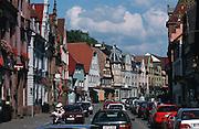 Deutschland, Germany,Baden-Wuerttemberg.Schwarzwald.Zell am Hamersbach, Hauptstraße.Zell am Hamersbach, main street...
