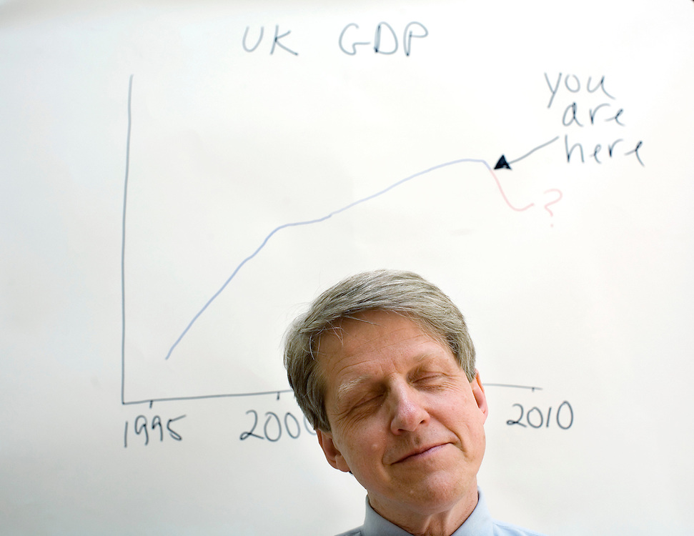 UK. London. professor Robert Schiller who is a Yale university professor and has an economics analysis book out