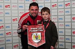 Man of the Match presentation - Photo mandatory by-line: Dougie Allward/JMP - Tel: Mobile: 07966 386802 29/12/2012 - SPORT - FOOTBALL - Ashton Gate - Bristol -  Bristol City v Peterborough United - Championship.