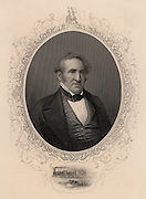 Thomas Hart Benton (1782-1858), American lawyer, newspaper owner and statesman, born at Harts Mill, North Carolina. Senator for Missouri. From 1824 Benton was a staunch supporter of Andrew Jackson.  His nickname was Old Bullion because of his advocacy of hard money - currency backed by gold.
