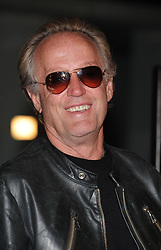 """File photo - """"Peter Fonda attends the premiere of Woody Allen's """"""""Whatever Works"""""""" held at the Pacific Design Center. Los Angeles, June 8, 2009. Peter Fonda, the star, co-writer and producer of the 1969 cult classic Easy Rider, has died at the age of 79. Peter Fonda was part of a veteran Hollywood family. As well as being the brother of Jane Fonda, he was also the son of actor Henry Fonda, and father to Bridget, also an actor. Photo by Lionel Hahn/ABACAPRESS.COM (Pictured: Peter Fonda)"""""""