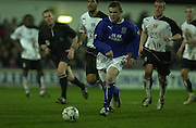 10/01/2004 - Photo  Wayne ROONEY, Peter Spurrier.2003/04 Barclaycard Premiership Fulham v Everton .