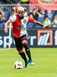 Jeremiah st. Juste of Feyenoord during the Pre-season Friendly match between Feyenoord Rotterdam and Levante UD at the Kuip on July 29, 2018 in Rotterdam, The Netherlands