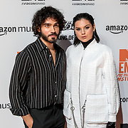 NLD/Amsterdam/20191028 - MTV Pre Party in Amsterdam, Kay Nambiar and Famke Louise