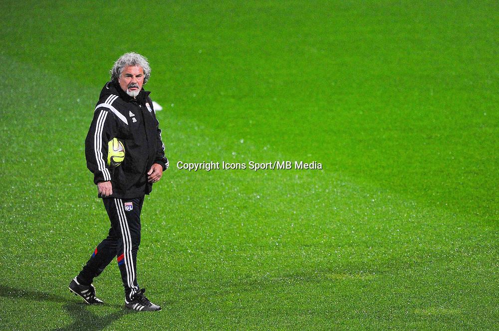 Joel BATS  - 04.12.2014 - Lyon / Reims - 16eme journee de Ligue 1  <br /> Photo : Jean Paul Thomas / Icon Sport