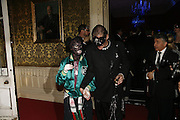 Feral from Canteen and Judy Blame, The Moet and Chandon Fashion Tribute 2006 Honouring British Photographer Nick Knight. Strawberry Hill House. Twickenham. 24 October 2006. -DO NOT ARCHIVE-© Copyright Photograph by Dafydd Jones 66 Stockwell Park Rd. London SW9 0DA Tel 020 7733 0108 www.dafjones.com