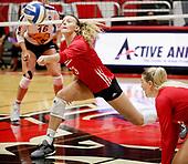 NCAA Volleyball - Indiana Hoosiers vs Northern Iowa - Muncie, In