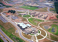 Aerial Image of College Dormitory