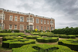 © Licensed to London News Pictures. 23/06/2015. Leeds, UK. Rarely seen hidden Tudor tunnels & cellars of Temple Newsam house in Yorkshire. Temple Newsam is famous as the birth place of Lord Darnley, notorious husband of Mary Queen of Scots. The Tudor-Jacobean mansion is set in 1,500 acres with grounds landscaped by Capability Brown. Photo credit : Andrew McCaren/LNP