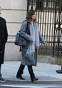 Nov. 4, 2015 - New York City, NY, USA - Actress Emily Blunt was on the set of the new movie 'The Girl on the Train' <br /> ©Exclusivepix Media