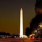Washington Monument at night, Washington DC
