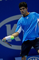 20111117: SAO PAULO, BRAZIL - ATP Challenger Tour Finals 2011: Rui Machado vs Dudi Sela.<br /> In photo: Rui Machado.<br /> PHOTO: CITYFILES
