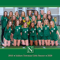 Newman Girls High School Soccer Portraits