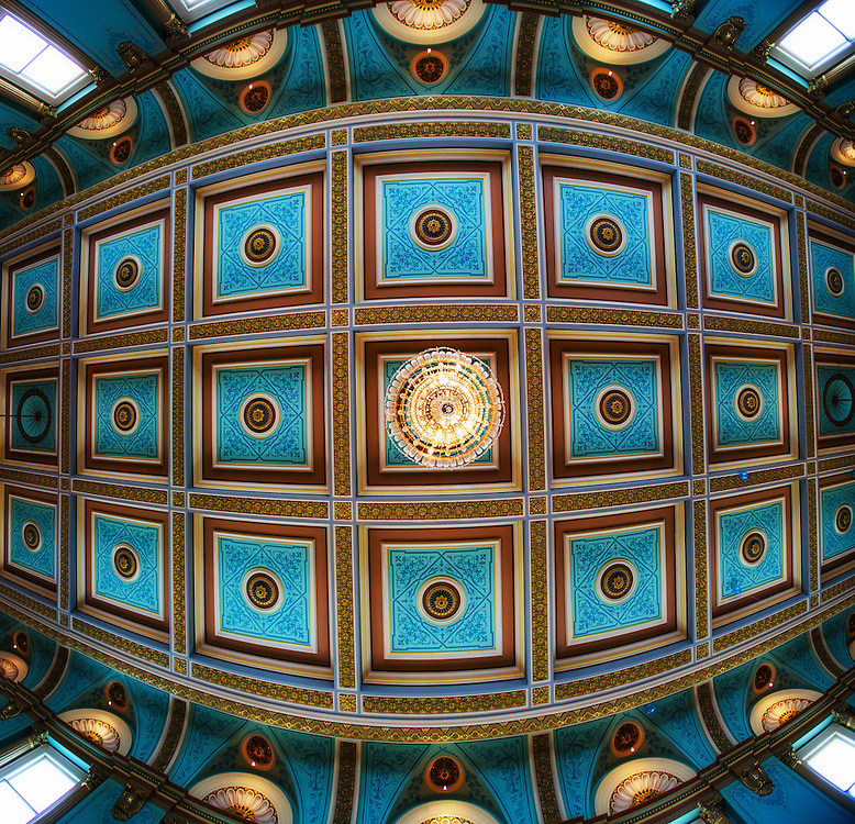 Government House, Melbourne Australia, Grand Ballroom ceiling melbourne photographers, commercial photographers, industrial photographers, corporate photographer, architectural photographers, This photograph can be used for non commercial uses with attribution. Credit: Craig Sillitoe Photography / http://www.csillitoe.com<br />