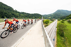 Heinrich Haussler (AUS) of Bahrain - Merida during 1st Stage of 26th Tour of Slovenia 2019 cycling race between Ljubljana and Rogaska Slatina (171 km), on June 19, 2019 in  Slovenia. Photo by Vid Ponikvar / Sportida